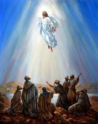 Ascension into heaven jesus